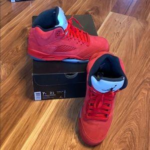 Jordan Retro 5 Red